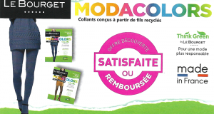 Collant Modacolor Fils Recyclés Le Bourget 100% remboursé