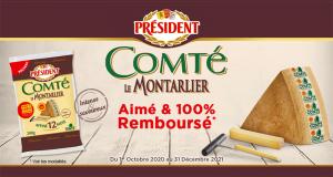 Comté Le Montarlier Président 100% Remboursé