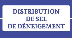 Distribution Gratuite de Sel de Déneigement - Mimet