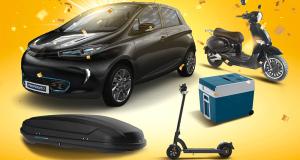 Gagnez une voiture électrique Renault Nouvelle Zoe Life R110