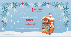 Sophie La Girafe 2ème produit 100% Remboursé
