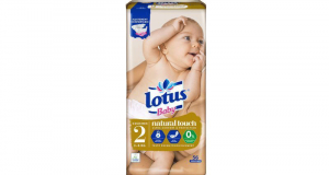 Testez les couches Lotus Baby Natural Touch