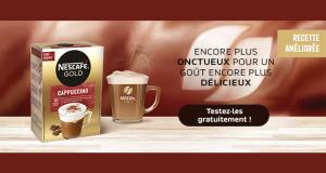 Échantillons Gratuits Café Gold Cappuccino de Nescafé
