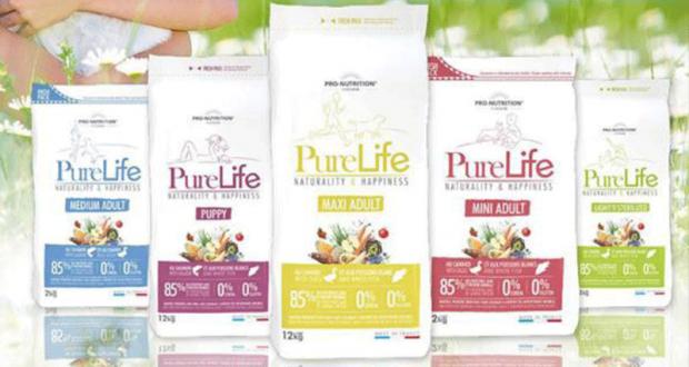 Échantillons gratuits de croquettes Pure Life