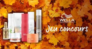 1 an de 12 produits de soins Wella offert