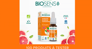 100 produits Vitalité de Biosens à tester