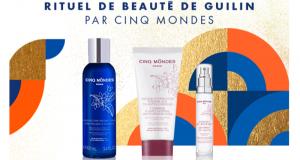 12 lots rituel de 3 produits Guilin Cinq Mondes offerts