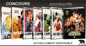 14 Blu-ray ou DVD de films des éditions Artus Films offerts