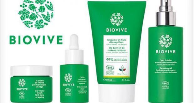 20 lots de 4 produits de soins Biovive offerts