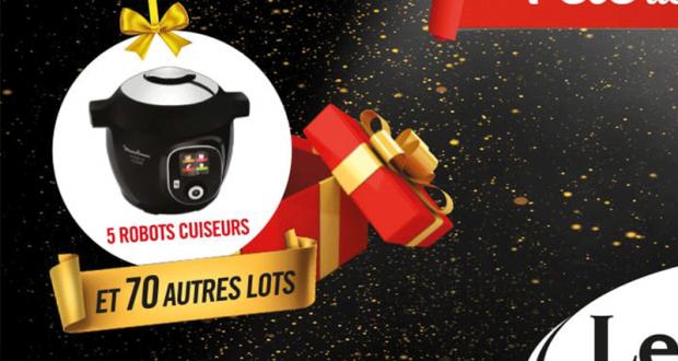 5 robots de cuisine Cookeo de Moulinex offerts