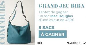 5 sacs Mac Douglas offerts (Valeur unitaire 460€)