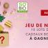 60 cadeaux maquillage SO'BiO étic offerts