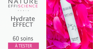 60 crème Hydrate Effect Nature Effiscience à tester