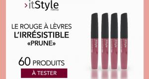 60 rouges à lèvres l'irrésistible prune de itstyle makeup à tester