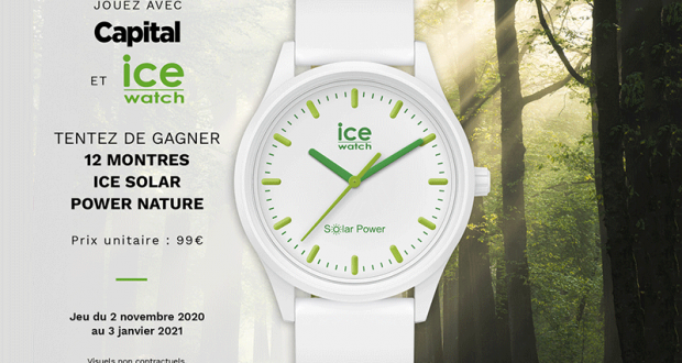 Capital 12 montres Ice Watch offertes