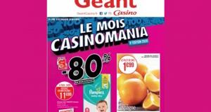 Catalogue Casino du 16 novembre au 29 novembre 2020