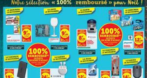 Sélection de produits 100% remboursés en bons d'achats
