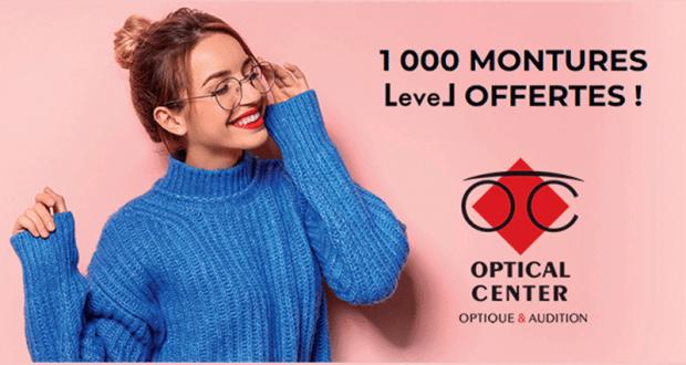 1 000 montures de lunettes LEVEL offertes