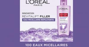100 Eau Micellaire Repulpante Revitalift Filler L'Oréal Paris à tester