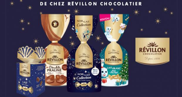 100 lots gourmands Révillon Chocolatier offerts