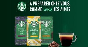 1000 Coffrets de café Starbucks à tester