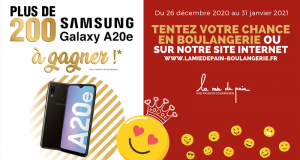 200 smartphones Samsung Galaxy A20e offerts