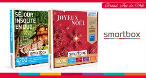 22 coffrets Smartbox offerts