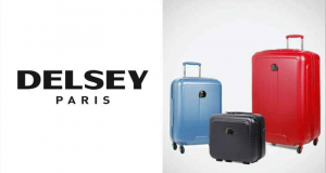 24 bagages Delsey offerts