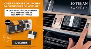 30 diffuseurs céramiques de voiture Estéban offerts