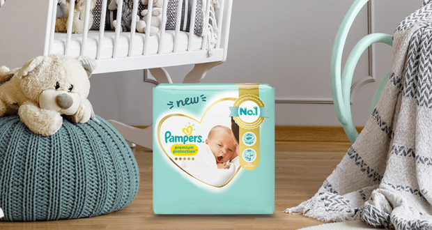 3000 kits Pampers Premium Protection à tester