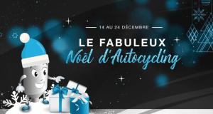 33 Cartes cadeaux Autocycling offertes