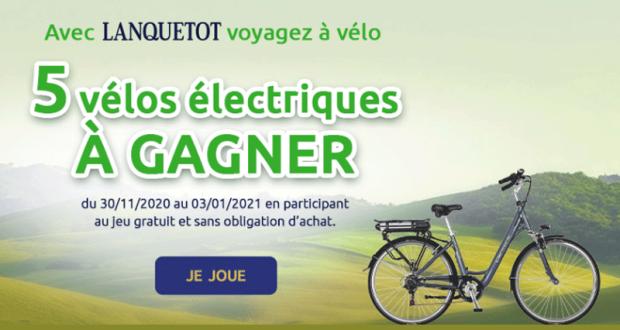 5 vélos électriques 400Wh Peugeot Cycles offerts