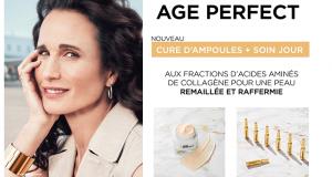 500 Routine Age Perfect Raffermissante L'Oréal Paris à tester
