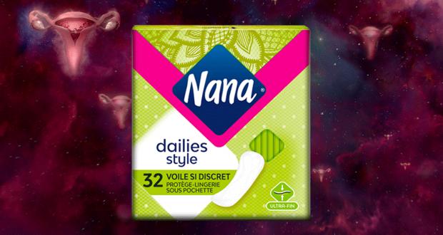 500 paquets Nana Dailies Voile Si Discret à tester