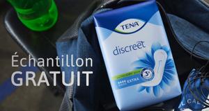 Demandez gratuitement votre échantillon TENA Discreet