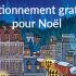 Stationnement gratuit pour Noël à Puteaux - La Défense