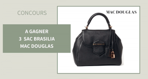 3 sacs à main Brasilia Mac Douglas offerts