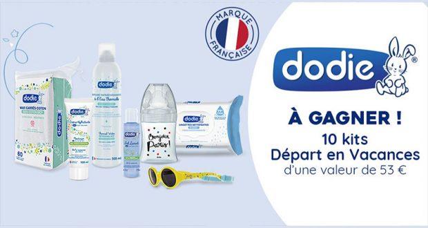 10 kits bébé Départ en vacances offerts