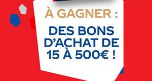 1400 bons de réduction fff.fr offerts (de 15 à 500 euros)