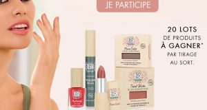 20 coffrets maquillage SO'BiO étic offerts