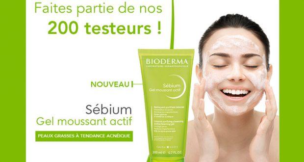 200 Sebium Gel Moussant Actif Bioderma à tester