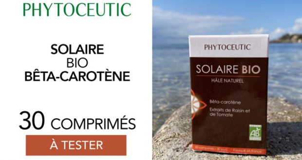 30 Solaire bio bêta-carotène phytoceutic à tester