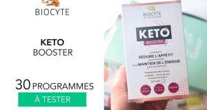 30 keto booster biocyte à tester
