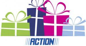 453 chèques-cadeaux Action offerts