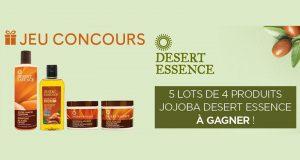 5 lots de 4 soins Desert Essence offerts