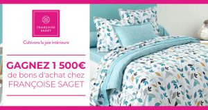 50 lots de 30 euros de bons d'achat Françoise Saget offerts
