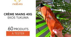 60 crèmes mains ekos tukumã de natura à tester