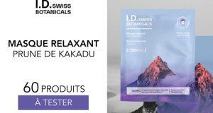 60 masque relaxant I.D Swiss Botanicals à tester