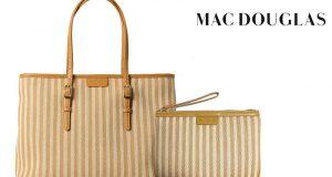 8 ensembles sacs et pochettes Mac Douglas offerts