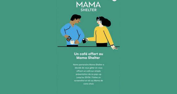 Café gratuit au Mama Shelter
